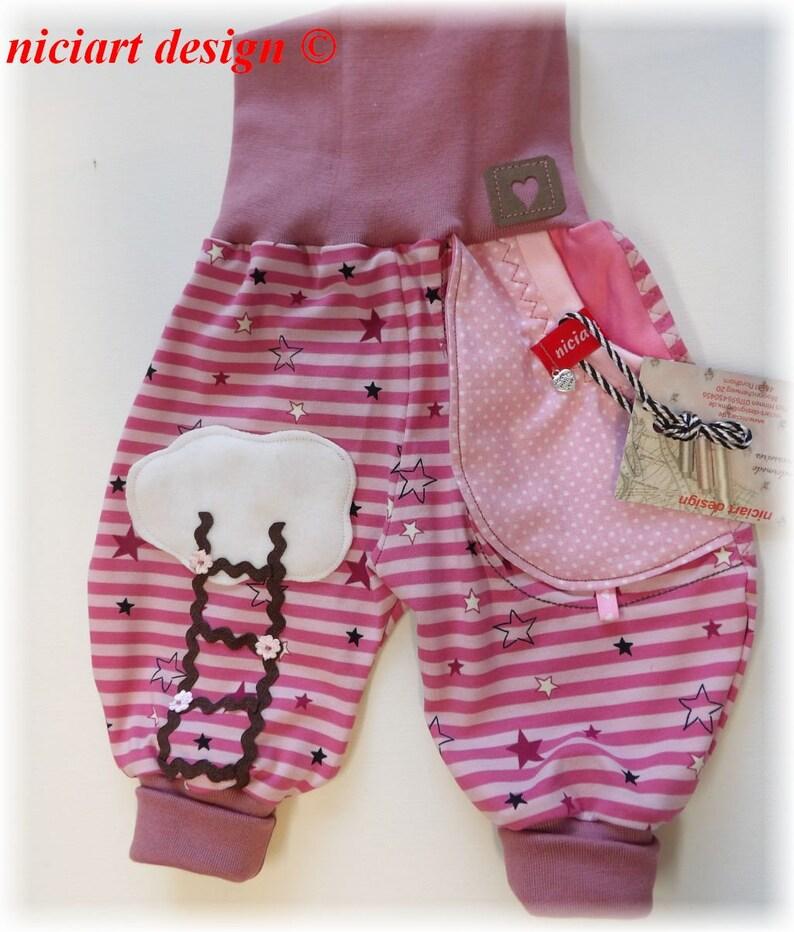 7c986d8c39 Niciart Designer Baby & Kinder Jersey Pumphose Jerseyhose Hose | Etsy
