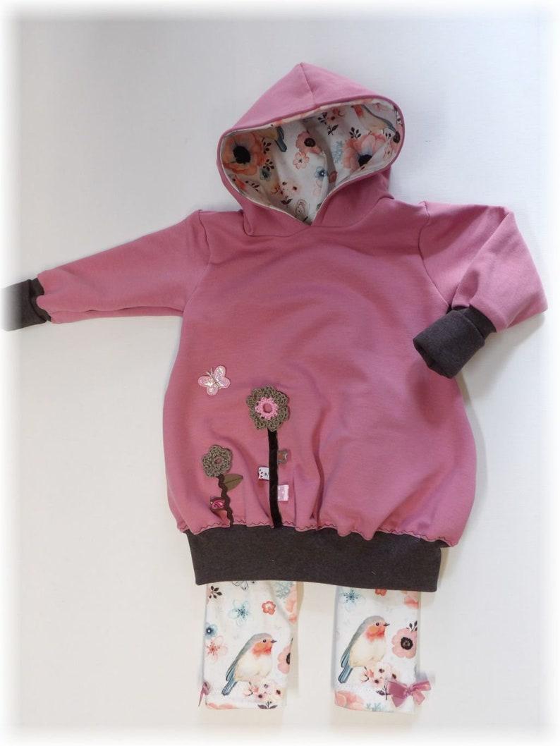 niciart Designer Baby /& Girl LEGGINGS jersey pants white pastel RED THROAT legging