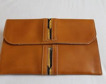 Pure leather Envelope Purse