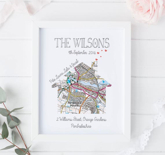 Personalised Moving Print