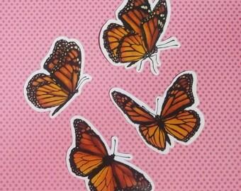 Stickers {Monarch}