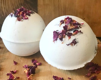 Wild Rose & Hibiscus Bath Bombs