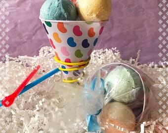 Summer Snowcone Bath Bomb Set