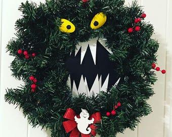 Nightmare Before Christmas Monster Wreath!