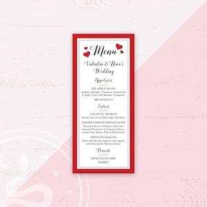 Custom Printable Menu Elephant Baby Shower Printable Menu Card Carnival Circus Birthday Party Bridal Shower Wedding