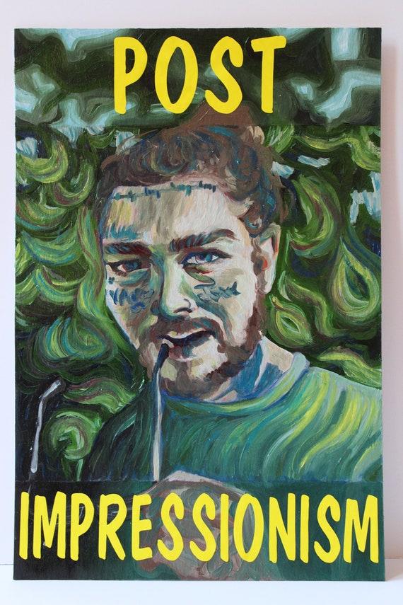 Acrylic on Poster Board George Floyd Original 12.5 x 16.5