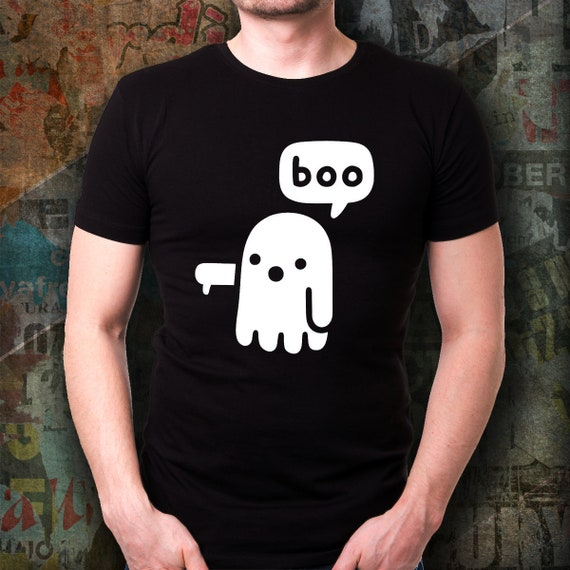 87985471d Halloween Shirt Halloween Costume Ghost Of Disapproval Boo   Etsy