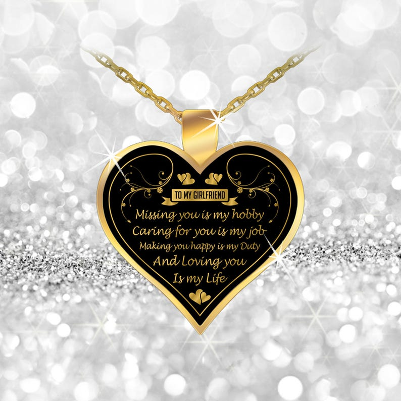 Girlfriend Necklace Gift Necklaces For Women