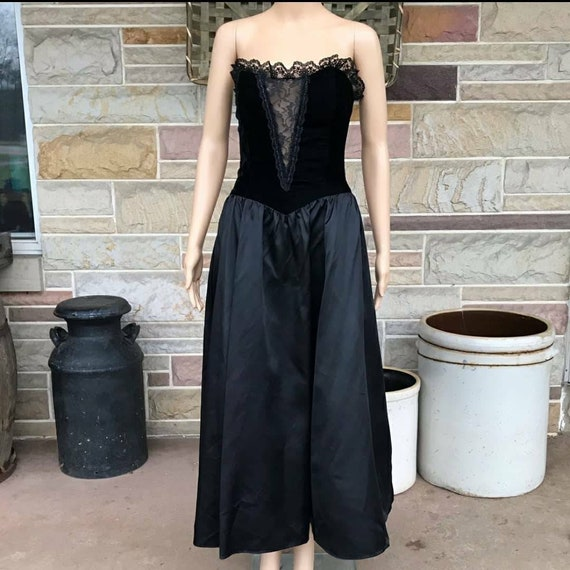 Gunne Sax corset dress