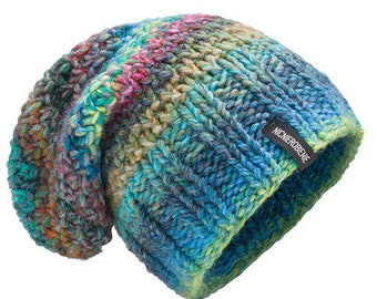 Thick Hat Chunky Pastel Wool hat for women beanie hat chunky hand knit hat 385c08848e1