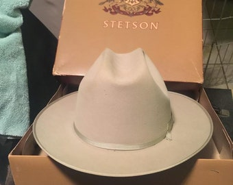 813926d5c0d025 Stetson Twenty Five 1960's 7 1/4 Excellent condition with original box