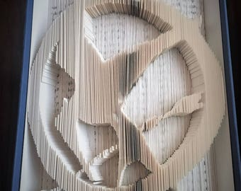 Mockingjay Book Folding - The Hunger Games