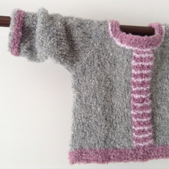 a4ad916e9521 Baby alpaca sweater pulloverhand knitted shower gift baby