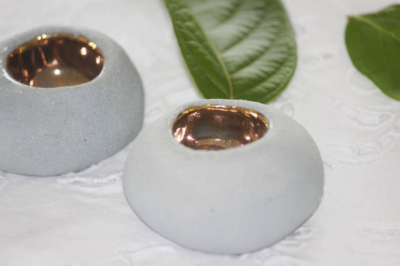 Shabbat candlestick Ceramic Candle holders