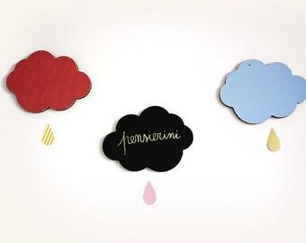 Pensierini, lavagnette in cartone double face