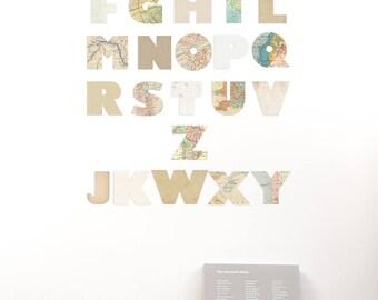 Alfabeto da Muro in cartone