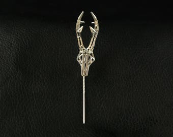Hatpin Roe Sterling Silver