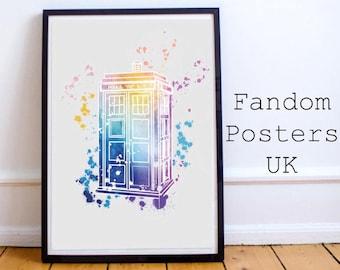 Doctor Who Tardis Poster Art