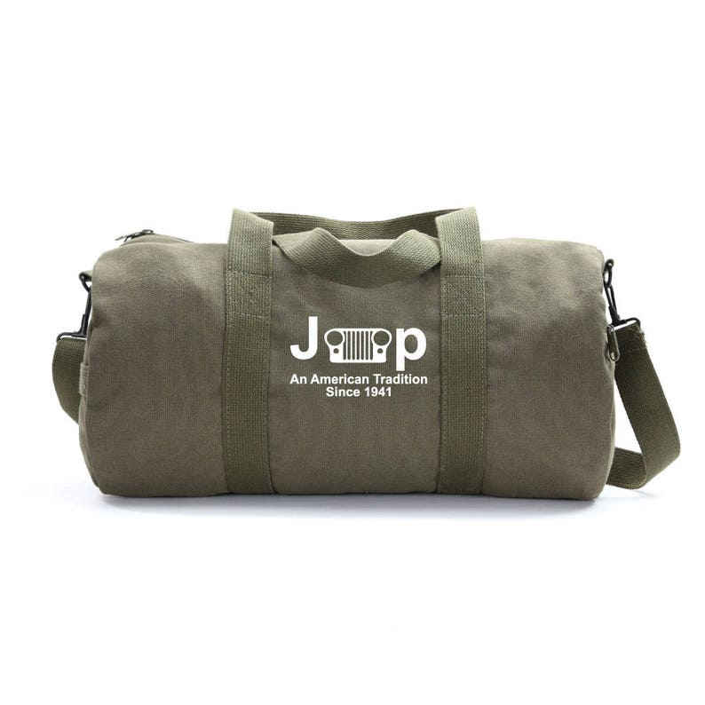 1716b2466a Jeep An American Tradition Duffle Bag Canvas Bag Weekender
