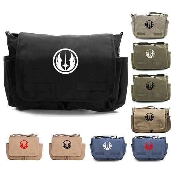 Army Outdoor Accessories for Husband Star Trek Federation Monogrammed Laptop Shoulder Bag for Men Canvas Messenger Crossbody Bag for Him