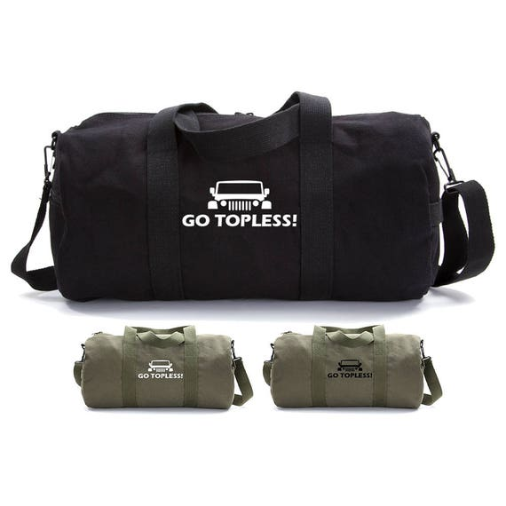 Jeep Go Topless Duffle Bag and Dopp Kit Set Travel Bag Gifts  d97afc6611134