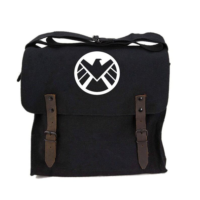 c7278979b492 Agents of Shield Medic Messenger Shoulder Canvas Bag