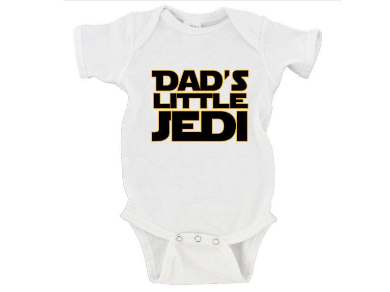 Unisex-Baby I Am A Jedi Like My Cousin Star Wars Baby Bodysuit