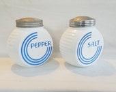 Vitrock Fire King Salt and Pepper Shaker Set