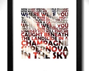 Champagne supernova | Etsy