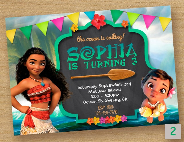picture about Moana Printable Invitations referred to as Moana Invite, Moana Birthday Invitation, Disney Moana Bash