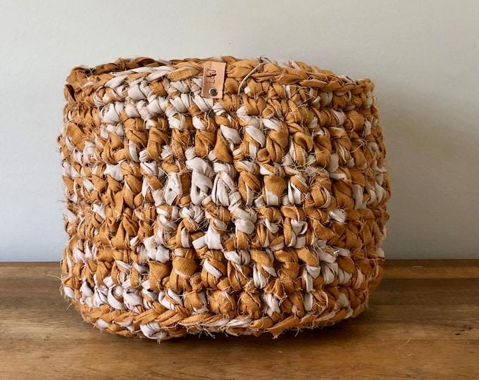 Medium Crochet Basket