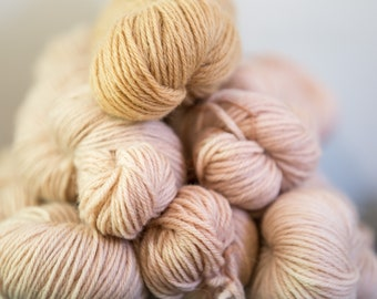 Naturally Dyed Wool