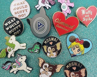 Flawed Pins + Seconds Sale Mystery Pin Sets