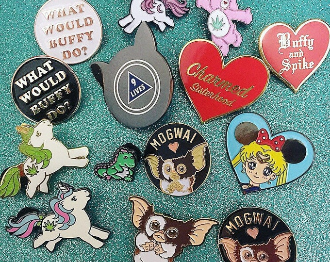 Featured listing image: Flawed Pins + Seconds Sale Mystery Pin Sets