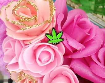 Mini Bud Leaf Enamel Pin