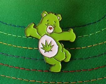 Stoney Bear Pin - 4 Colors