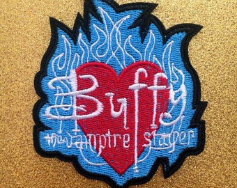 What Would Buffy Do?, BTVS Logo and Spike Iron On Patches