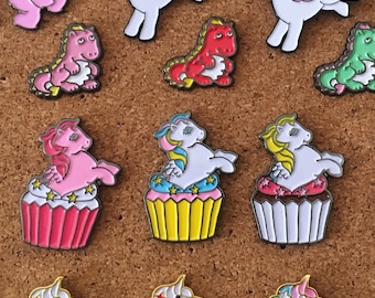 Pegasus Cupcake Pin