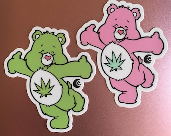 Stoney Bear, You pick: 2 Vinyl Stickers or Magnet or Patch or Vinyl Sticker Sheet, Save witu the Full Set Bundle Deal