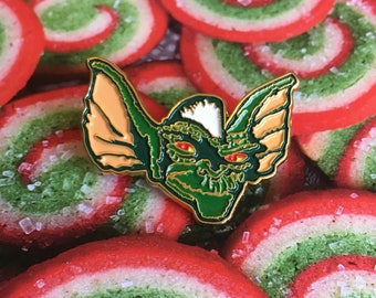 Stripe Gremlins Pin