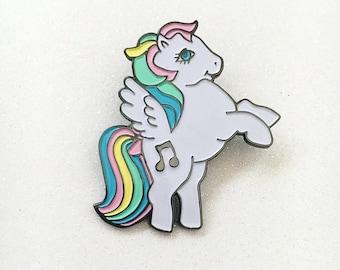 Music Pegasus Pin