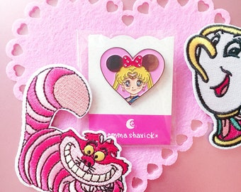 Sailor Minnie Enamel Pin - 3 Color Choices