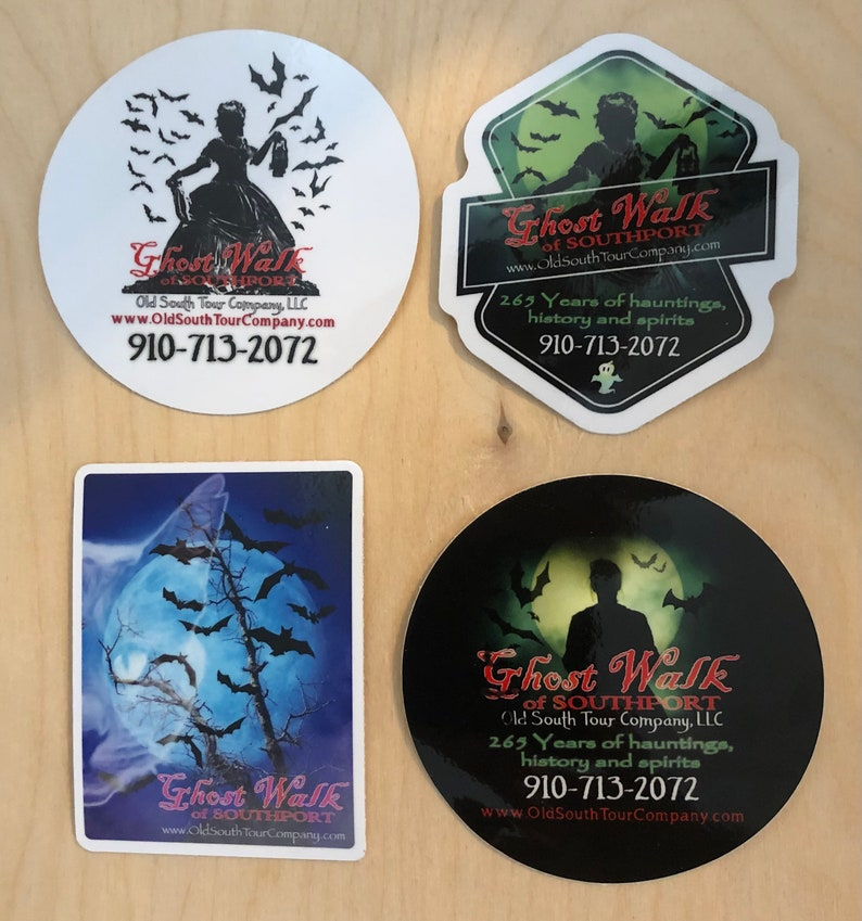 OSTC Ghost Walk Sticker Set image 0