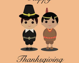 Thanksgiving holiday cards