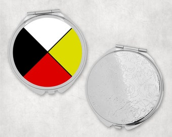 Four Directions Compact Mirror