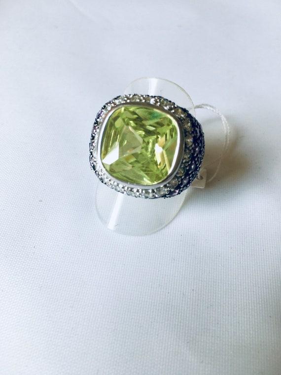 Silver Ring 925 Multi Stone