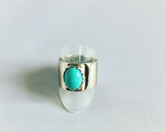 925 Silver and turquoise ring