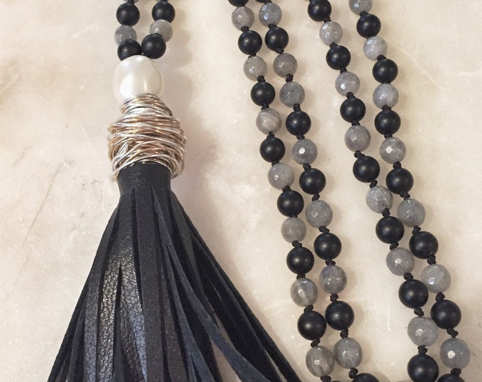 Strength & Light Mala  Necklace