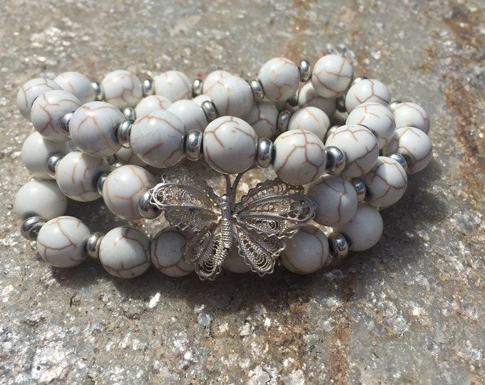 Fluttering Beauty | Infinity Wrap Bracelet