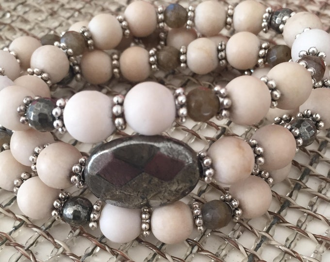Luster |  Infinity Wrap Bracelet